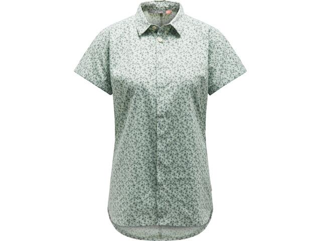 Haglöfs Idun Camisa Manga Corta Mujer, blossom green flower